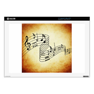 Musical Notes Laptop Decals