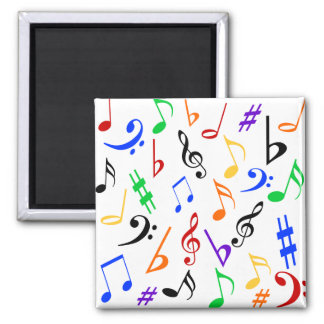 Musical Notes Magnet - Multi