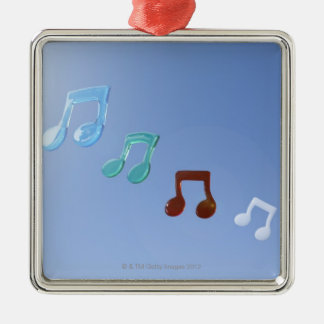 Musical Notes Metal Ornament