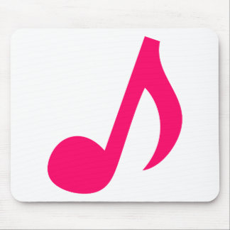 Musical notes mouse pad