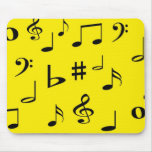 Musical Notes Mouse Pads