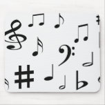 Musical Notes Mousepads