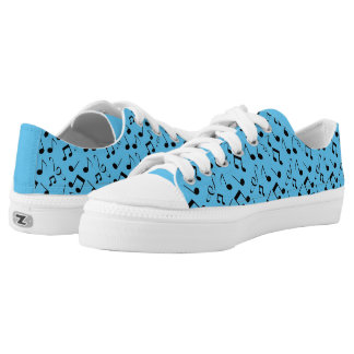 Musical Notes Music Design Sneakers