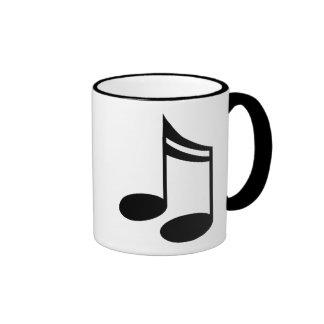 Musical Notes Music Gift Mugs