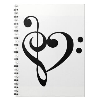 *MUSICAL NOTES / MUSIC LOVER'S* NOTEBOOK