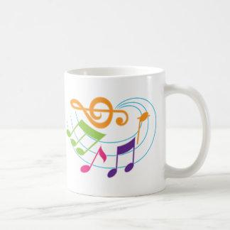 Musical Notes Musician Gift Mug