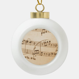 Musical Notes Ornaments