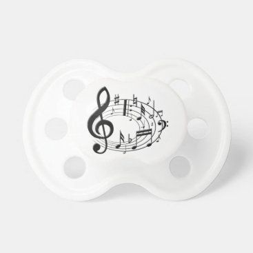 Toddler & Baby themed Musical Notes Pacifier