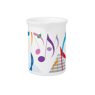 Musical Notes Beverage Pitchers