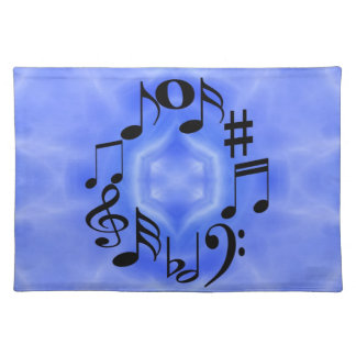 Musical Notes Place Mat