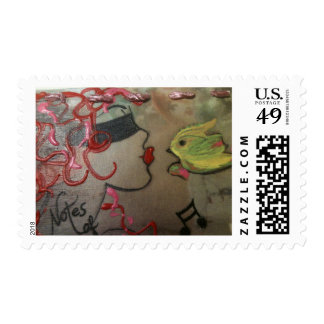 Musical Notes Postage