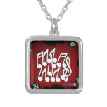MUSICAL NOTES RED BACKGROUND PRODUCTS CUSTOM JEWELRY