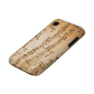 Musical Notes Samsung Galaxy S Case casematecase