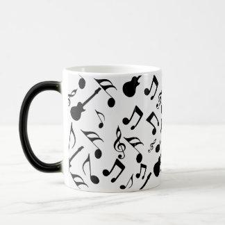 Musical Notes - Sheet Music Design Magic Mug