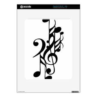 Musical_notes Skins For The iPad