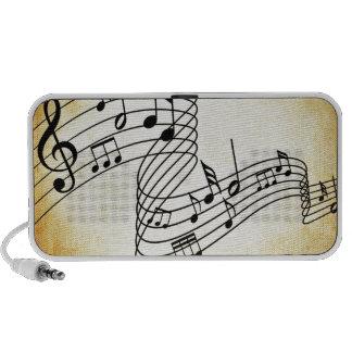 Musical Notes Speaker