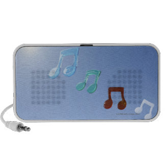 Musical Notes Notebook Speakers