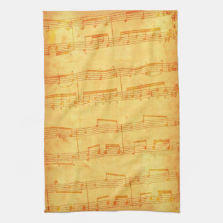 """""""Musical Notes"""" Towel"""