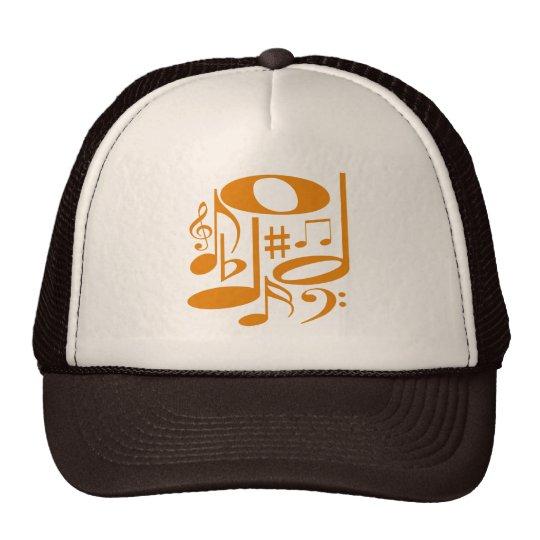 Musical Orange Hat