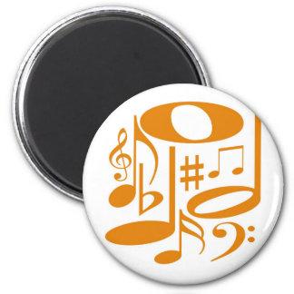 Musical Orange Magnet