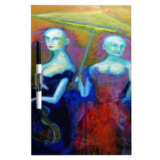 Musical Outing Painting Dry-Erase Board