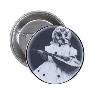 Musical Owl Buttons
