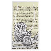 Musical Owls Small Gift Bag