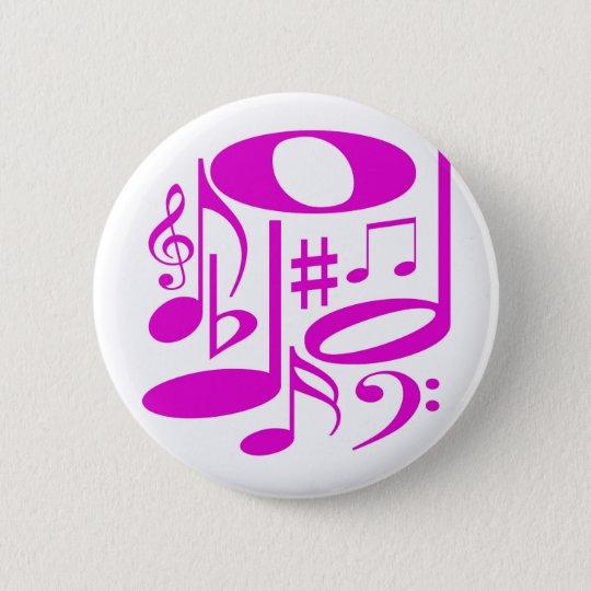 Musical Pink Button