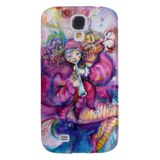MUSICAL PINK CLOWN GALAXY S4 COVER