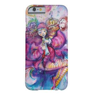 MUSICAL PINK CLOWN WITH OWL BARELY THERE iPhone 6 CASE