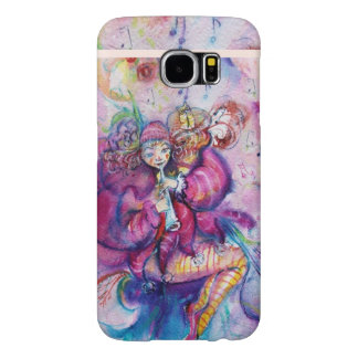 MUSICAL PINK CLOWN WITH OWL SAMSUNG GALAXY S6 CASE