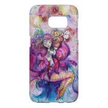 MUSICAL PINK CLOWN WITH OWL SAMSUNG GALAXY S7 CASE