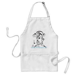 Musical Piracy Adult Apron