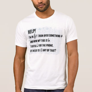 Musical play on words shirt