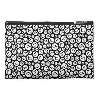 Musical Polka Dots Travel Accessory Bag