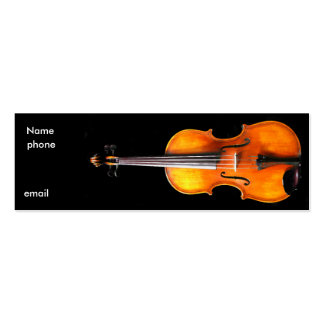 Musical Profile Card by Leslie Harlow