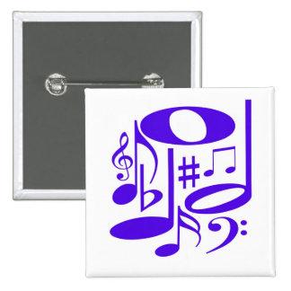 Musical  Purple Pin