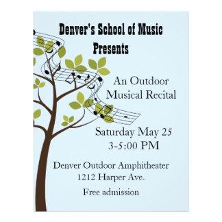 Musical Recital Custom Flyer