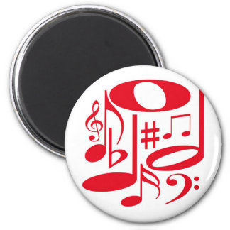 Musical Red Magnet