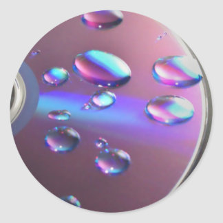 Musical Reflections Classic Round Sticker