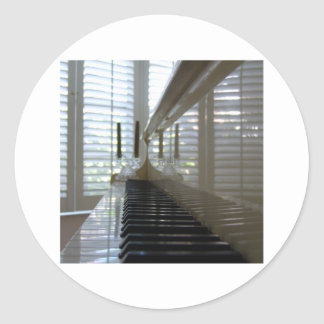 Musical Reflections Sticker