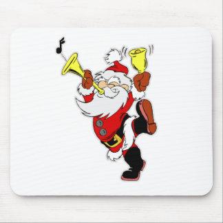 Musical Santa Claus Mouse Pad