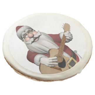 Musical Santa Claus Playing Christmas Songs Sugar Cookie