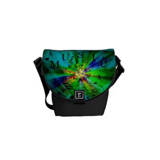 Musical Score Abstract Courier Bag