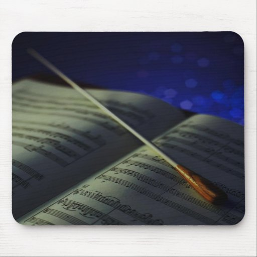 Musical Score Mousepads