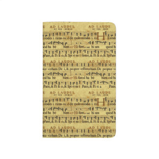 Musical Score Notation Old Paper Design Journal