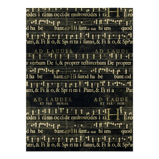 Musical Score Old Chalkboard Design Custom Invitation