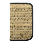Musical Score Old Parchment Paper Design Planner