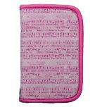Musical Score Old Pink Paper Design Planner