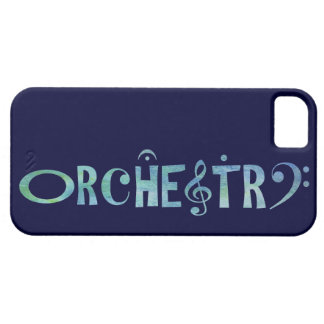 Musical Scrip Orchestra iPhone 5 Cases